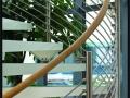Bendywood Spiral Wooden Handrail
