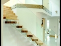 Easy Glass Point Fixture Floated Glass Balustrade