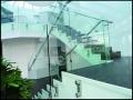 Side Mount Telephone Floated Glass Balustrade