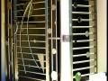 Designer Stainless Steel Security Gate #2