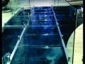 Glass Bridge with Glass Balustrading